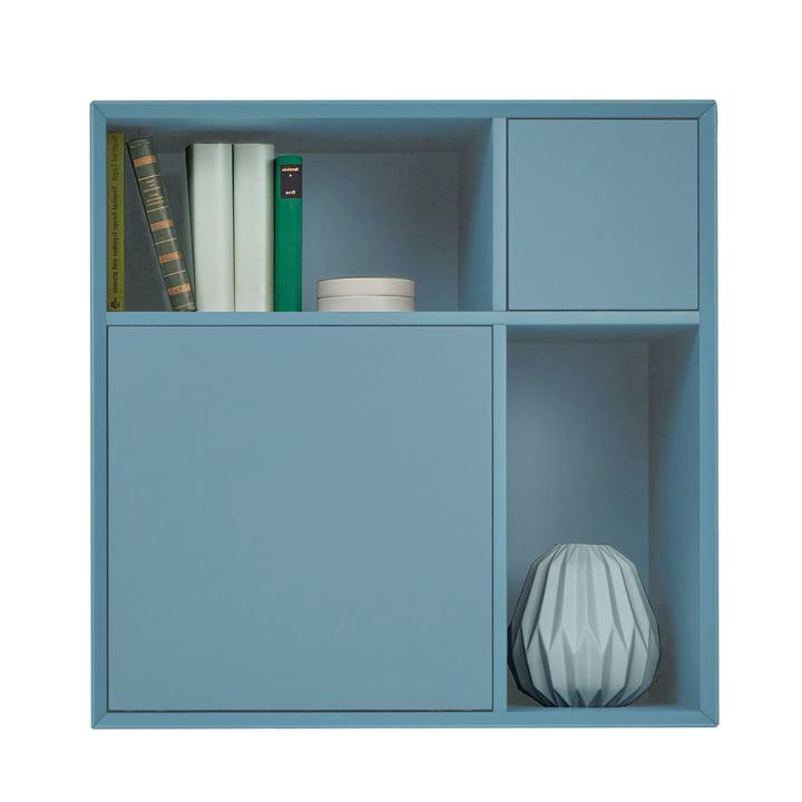 Vertiko Lack Sideboard One von Müller Möbelwerkstätten aus MDF silbertannenblau (RAL 2306015)