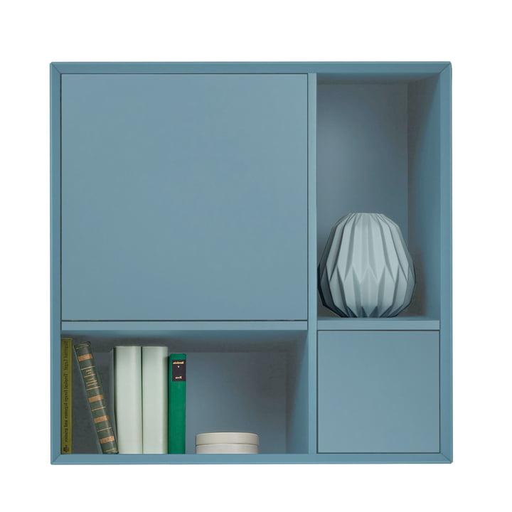 Vertiko Lack Sideboard Two von Müller Möbelwerkstätten aus MDF silbertannenblau (RAL 2306015)