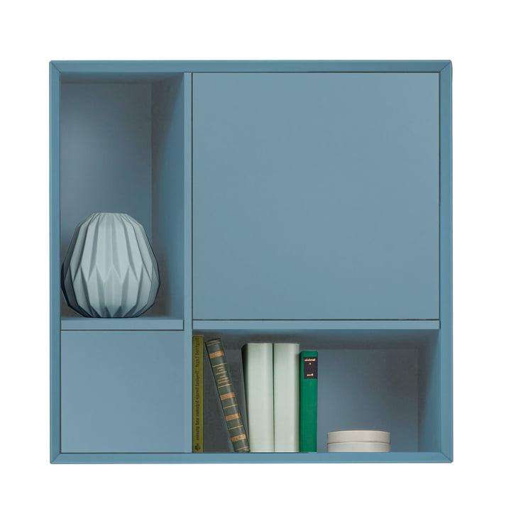 Vertiko Lack Sideboard Four von Müller Möbelwerkstätten aus MDF silbertannenblau (RAL 2306015)