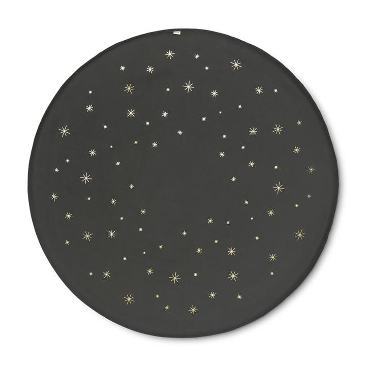 Christbaum-Decke Ø 120 cm Star von ferm living in dunkelgrün