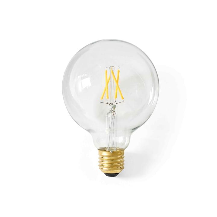 Globe LED-Leuchtmittel E27, Ø 95 mm / klar von Menu