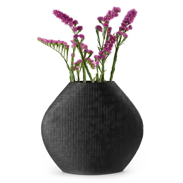 Outback Vase L in schwarz von Philippi