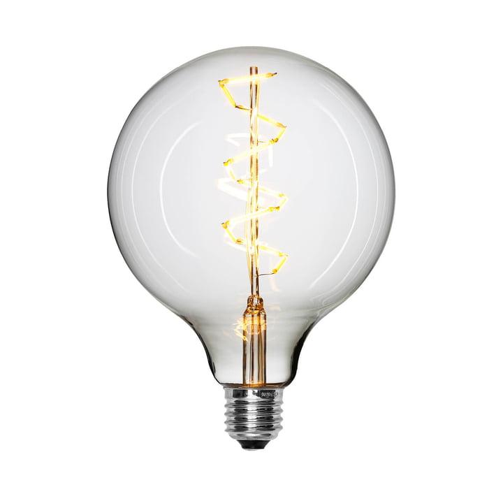 LED-Spiral Leuchtmittel Ø 125 mm, E27 / 1,5 W, klar von NUD Collection