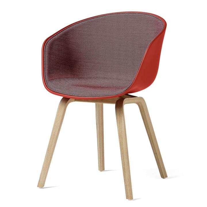 About A Chair AAC 22 von Hay in Eiche klar lackiert / warmrot (Surface 650)