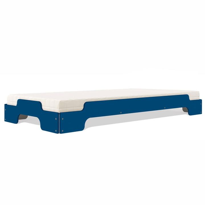 Stapelliege, 90 x 200 cm, kapitänsblau (RAL 2403035) von Müller Möbelwerkstätten