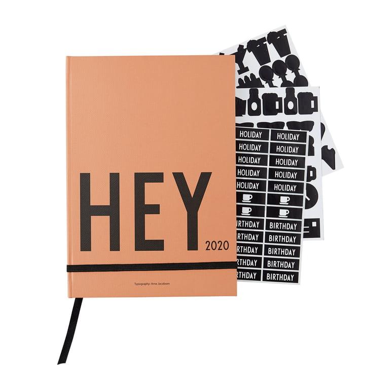 Kalender 2020, A5, nude von Design Letters
