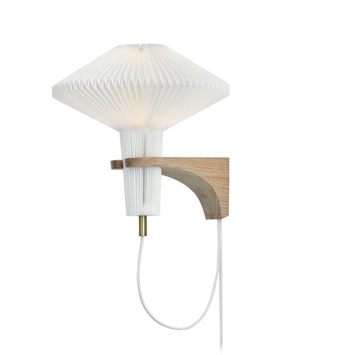 """204 Wandleuchte """"The Mushroom"""" von Le Klint in Eiche / weiß"""