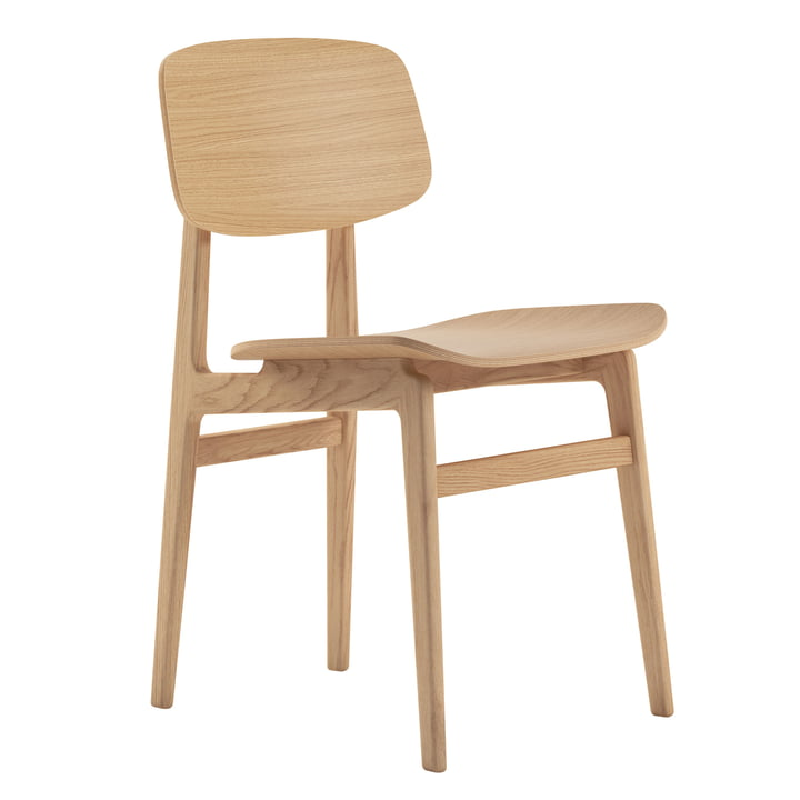 NY11 Dining Chair von Norr11 in Eiche natur