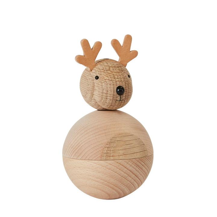 Holzfiguren Weihnachten, Rudolf von OYOY