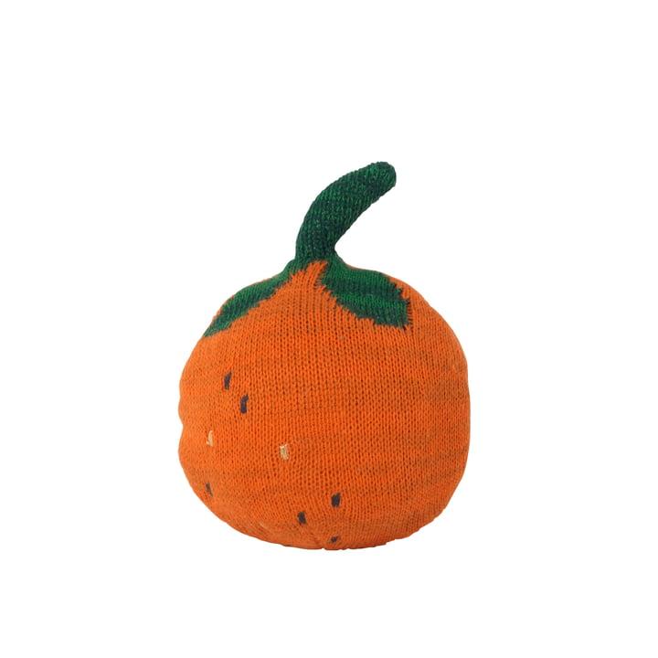 Fruiticana Kissen Orange Roly Poly von ferm Living in orange