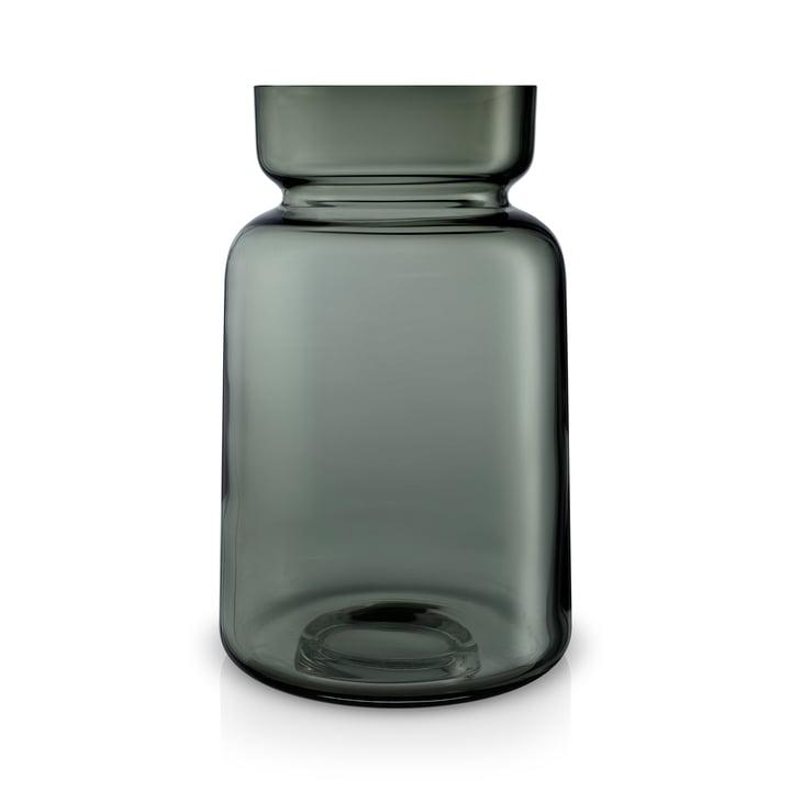 Silhouette Glasvase H 22 cm von Eva Solo in rauchgrau