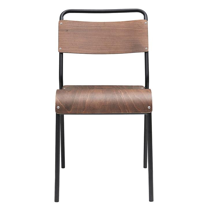 Original Stuhl von House Doctor in dunkelbraun