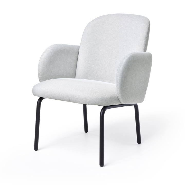 Dost Lounge Chair von Puik in hellgrau