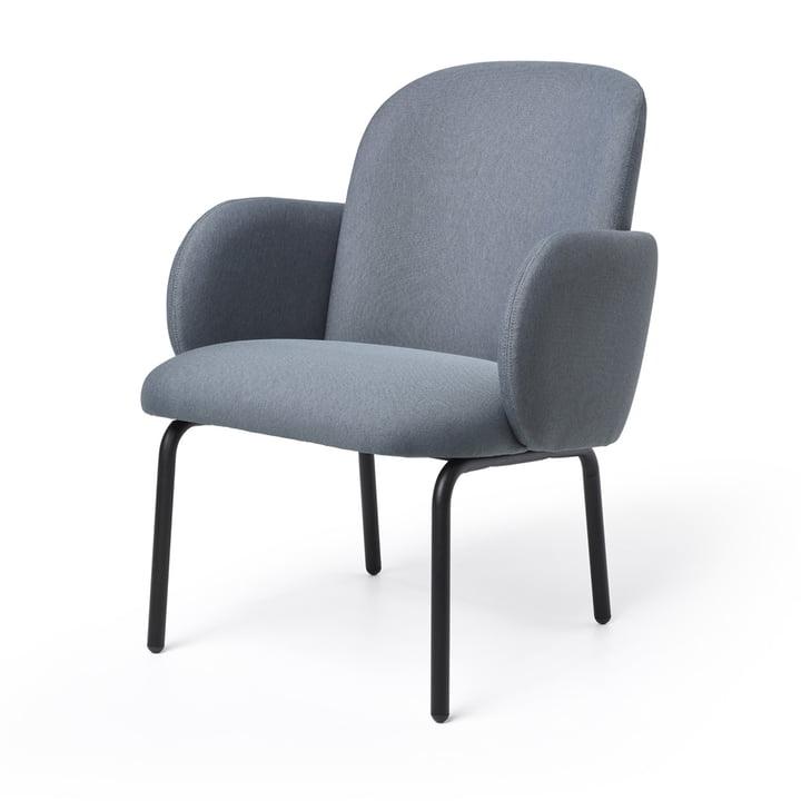 Dost Lounge Chair von Puik in dunkelgrau