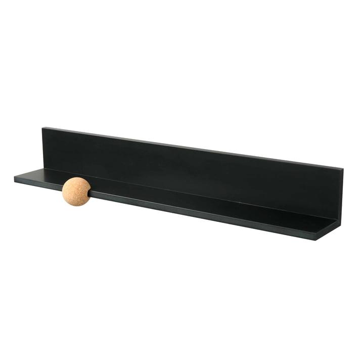 Straights Wandboard 60 cm von LoCa in schwarz