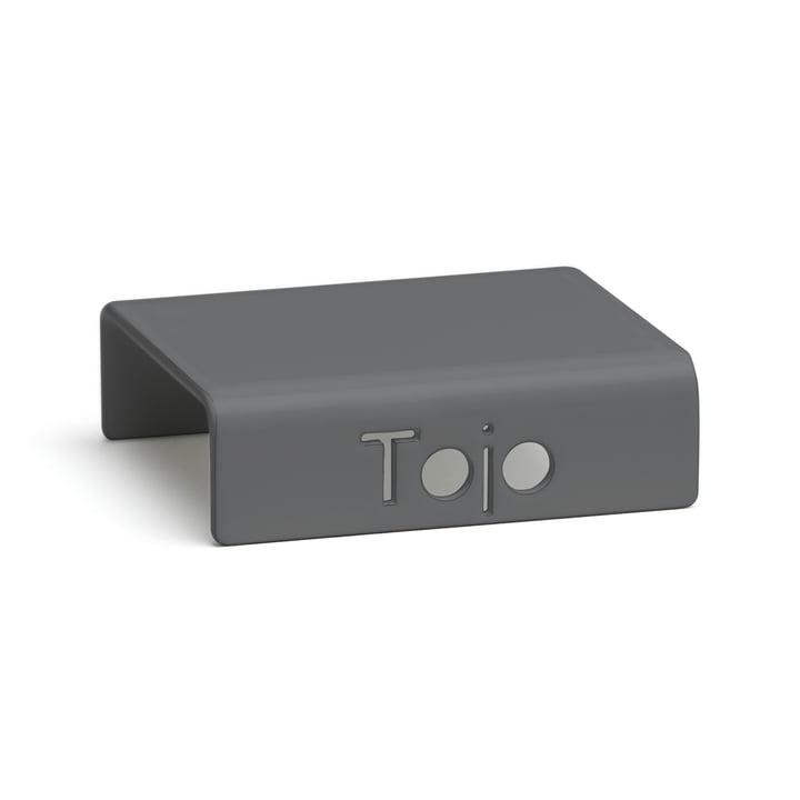 Clip für Hochstapler Regalsystem von Tojo in anthrazit