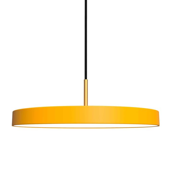 Asteria Pendelleuchte LED von Umage in safrangelb