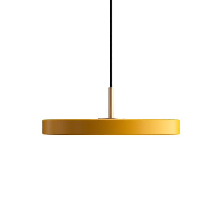 Asteria Mini LED-Pendelleuchte von Umage in safrangelb