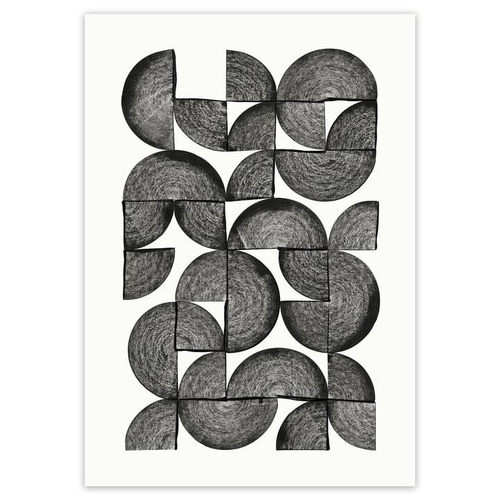 artvoll - Circles No. 1 Poster