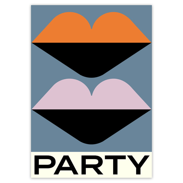 artvoll - Party Poster, 70 x 100 cm