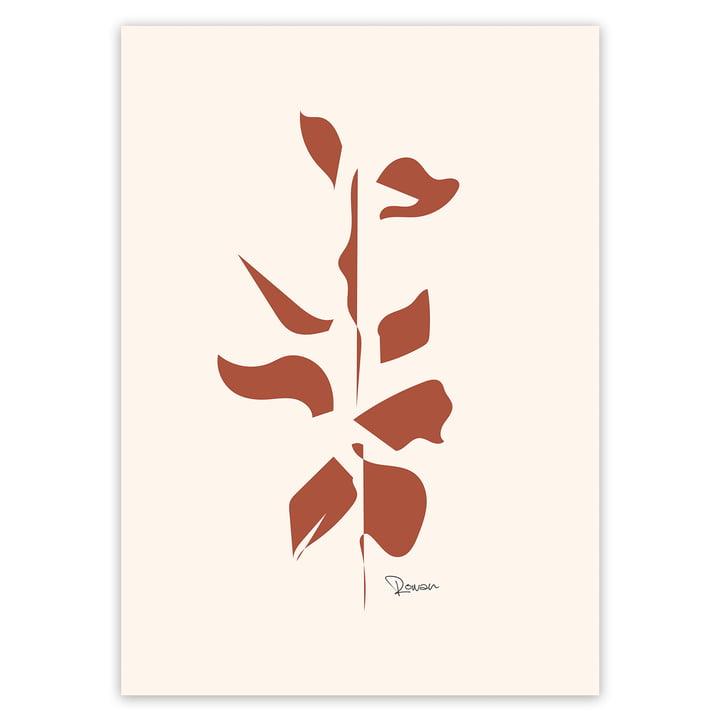 Artvoll - Leaf No.2 Poster, 50 x 70 cm