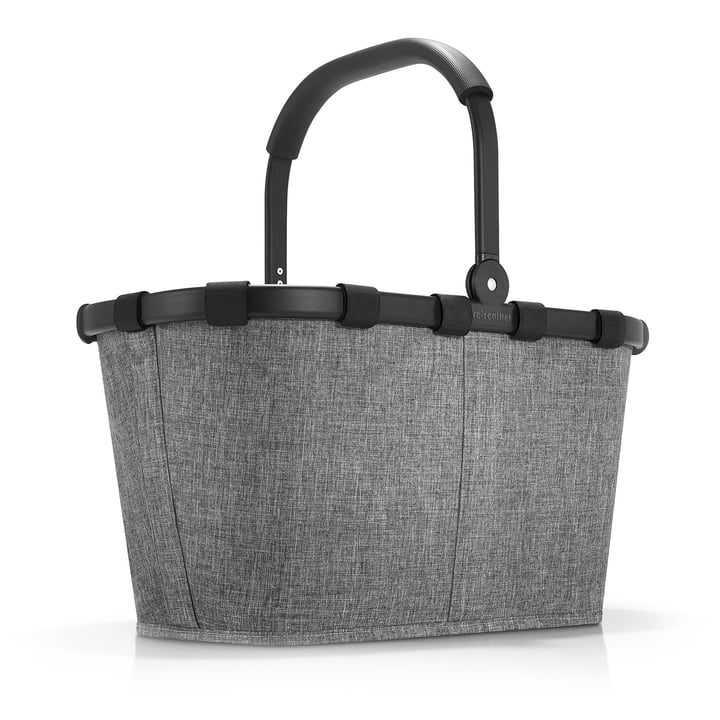 carrybag von reisenthel in frame twist silver
