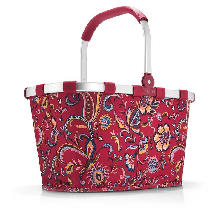carrybag von reisenthel in paisley ruby