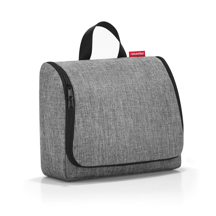 toiletbag XL von reisenthel in twist silver
