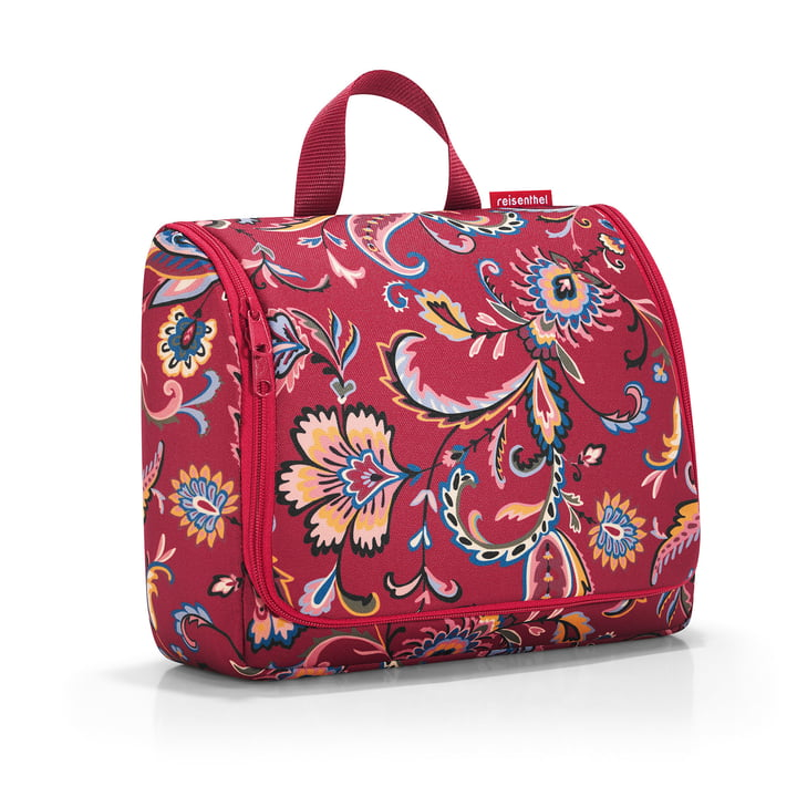 toiletbag XL von reisenthel in paisley ruby
