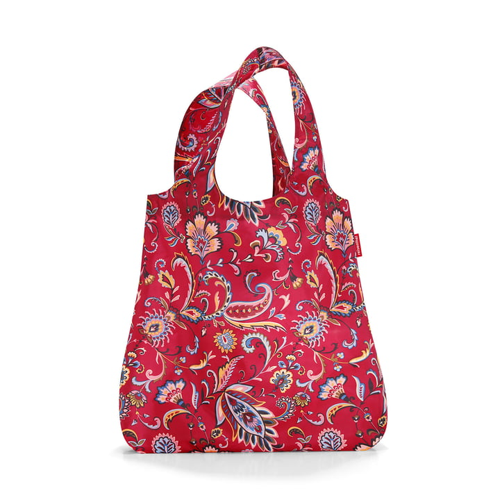mini maxi shopper von reisenthel in paisley ruby
