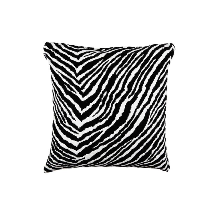 Zebra Kissenbezug 40 x 40 cm von Artek in schwarz / weiß