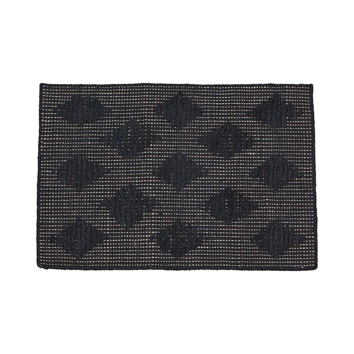 Cubie Fußmatte 50 x 70 cm von House Doctor in schwarz