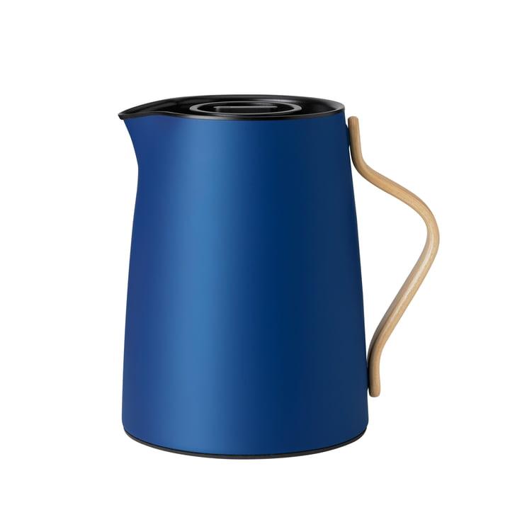 Emma Teeisolierkanne 1 l von Stelton in dunkelblau