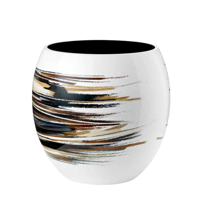 Stockholm Vase Lignum Ø 22,5 cm von Stelton