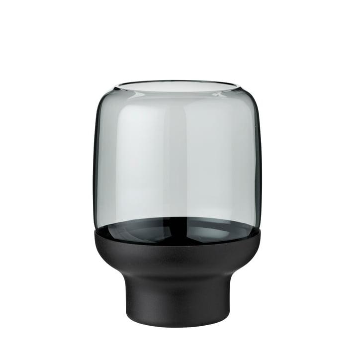 Hoop Teelichthalter Ø 10 x H 14 cm von Stelton in smoke