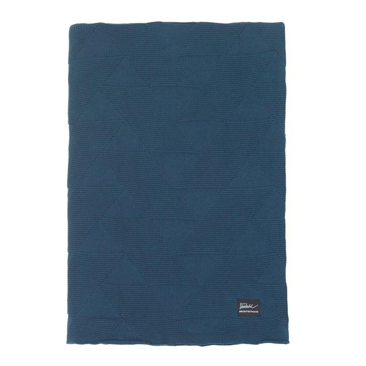 Finn Juhl Decke 210 x 140 cm von ArchitectMade in blau