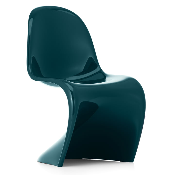 Panton Chair Classic von Vitra in petrol (Limited Edition)