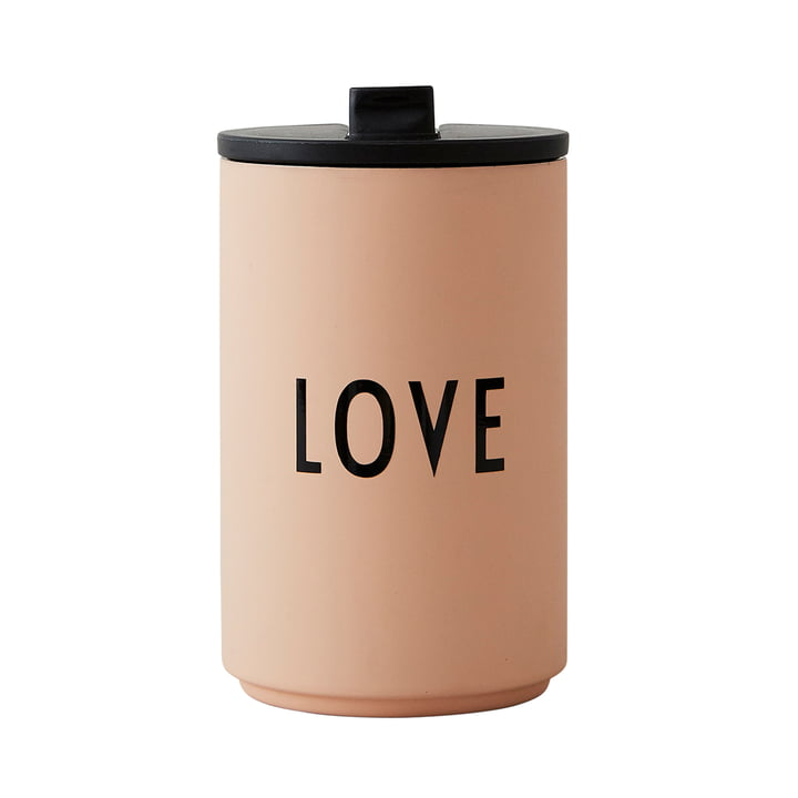 Thermo Cup 0.35 l Hot von Design Letters in soft camel