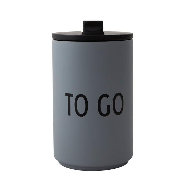 Thermo Cup 0.35 l To Go von Design Letters in grau