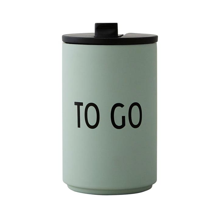 Thermo Cup 0.35 l To Go von Design Letters in grün
