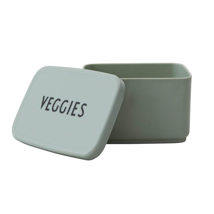 Snack Box Veggies von Design Letters in dunkelgrün