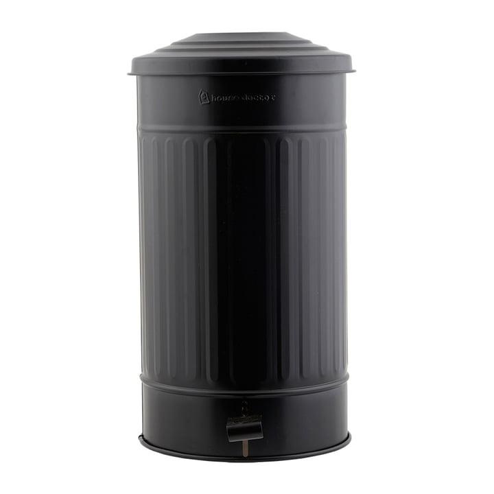 Mülleimer matt 24 l von House Doctor in schwarz
