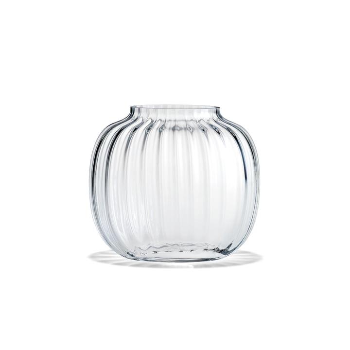 Primula Vase oval H 12,5 cm von Holmegaard in klar