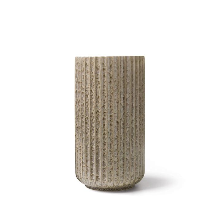 Radiance Vase H 15 cm von Lyngby Porcelæn in grau