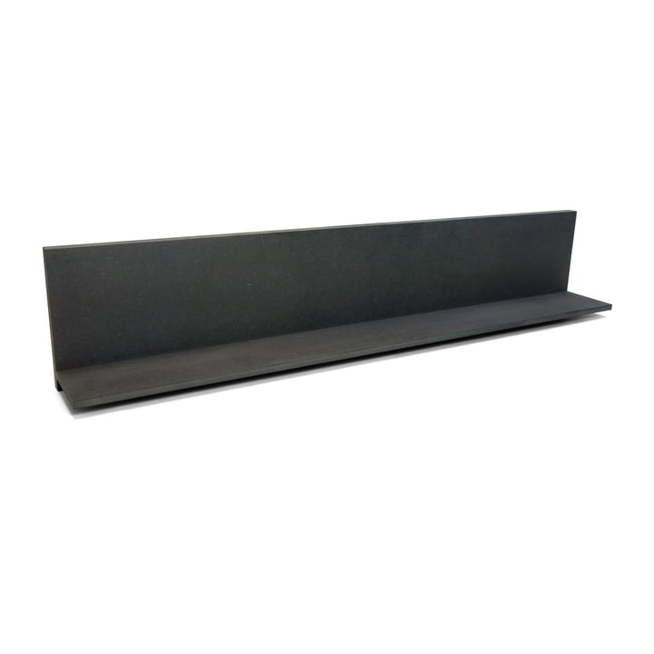 Connox Collection - Daily Wandregal, MDF schwarz / hoch / 90cm