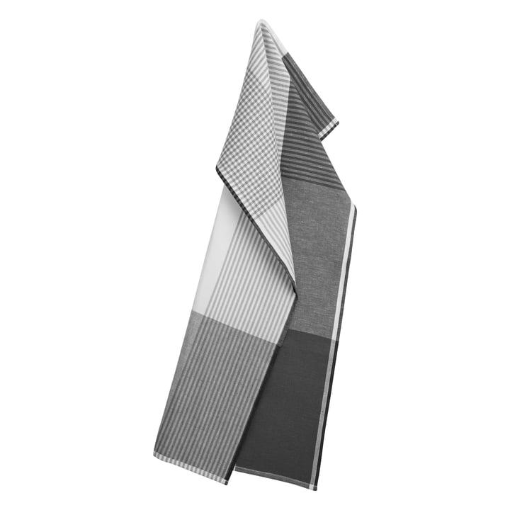 Becker 63 Geschirrtuch 50 x 80 cm von Georg Jensen Damask in flint grau