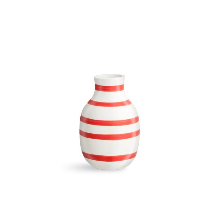 Omaggio Vase H 125 von Kähler Design in scarlet
