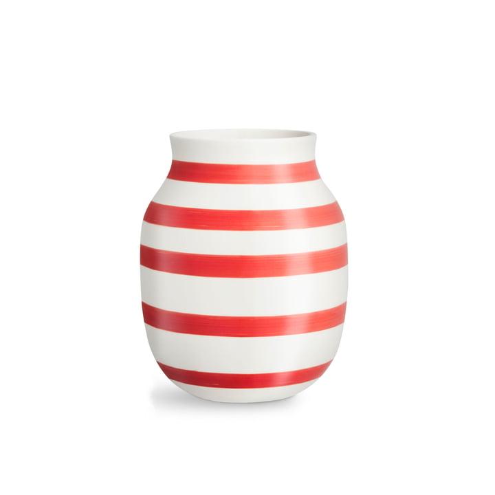 Omaggio Vase H 200 von Kähler Design in scarlet