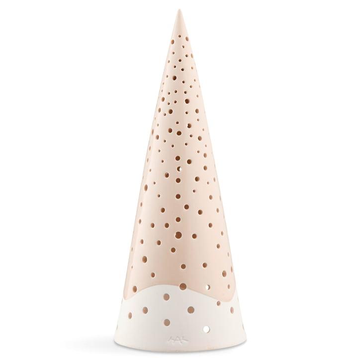Nobili Teelichtleuchter Kegel 30 cm von Kähler Design in nude