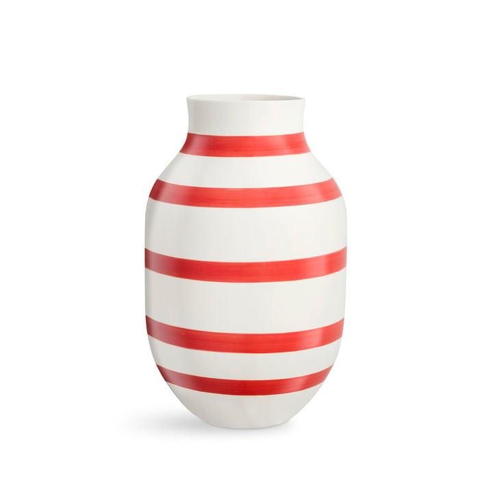 Omaggio Vase H 305 von Kähler Design in scarlet